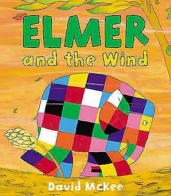 1 of 1 - Elmer and the Wind - David McKee - Brand New Paperback Edition - R.R.P £6.99