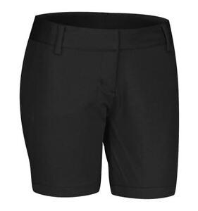 Dettagli su Adidas DONNA Taglia 10 14 16 Climalite Pantaloncini da Golf  Nero Comodo