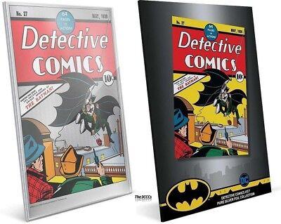 DETECTIVE COMICS #27 SILVER FOIL