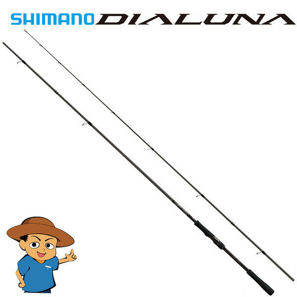 Shihommeo 2018 DIALUNA S86L lumière 8'6  fishing spinning rod from JAPAN
