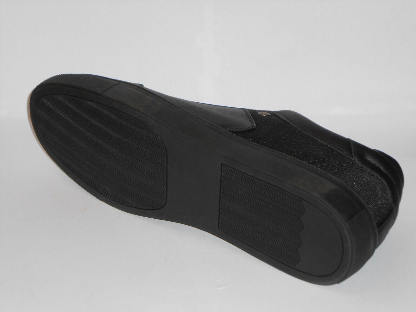 Avon BLACK Uomo Trainer UK 11 SHOES BLACK Avon TRAINER SHOE  /- f5f022