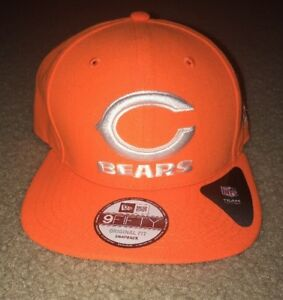 detailed look 294df 2b052 Image is loading New-Era-NFL-Chicago-Bears-9Fifty-Snapback-Adjustable-