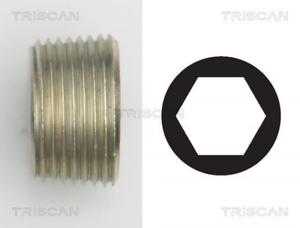 Ölwanne TRISCAN 95001015 für ABARTH ALFA ROMEO CHEVROLET Verschlussschraube