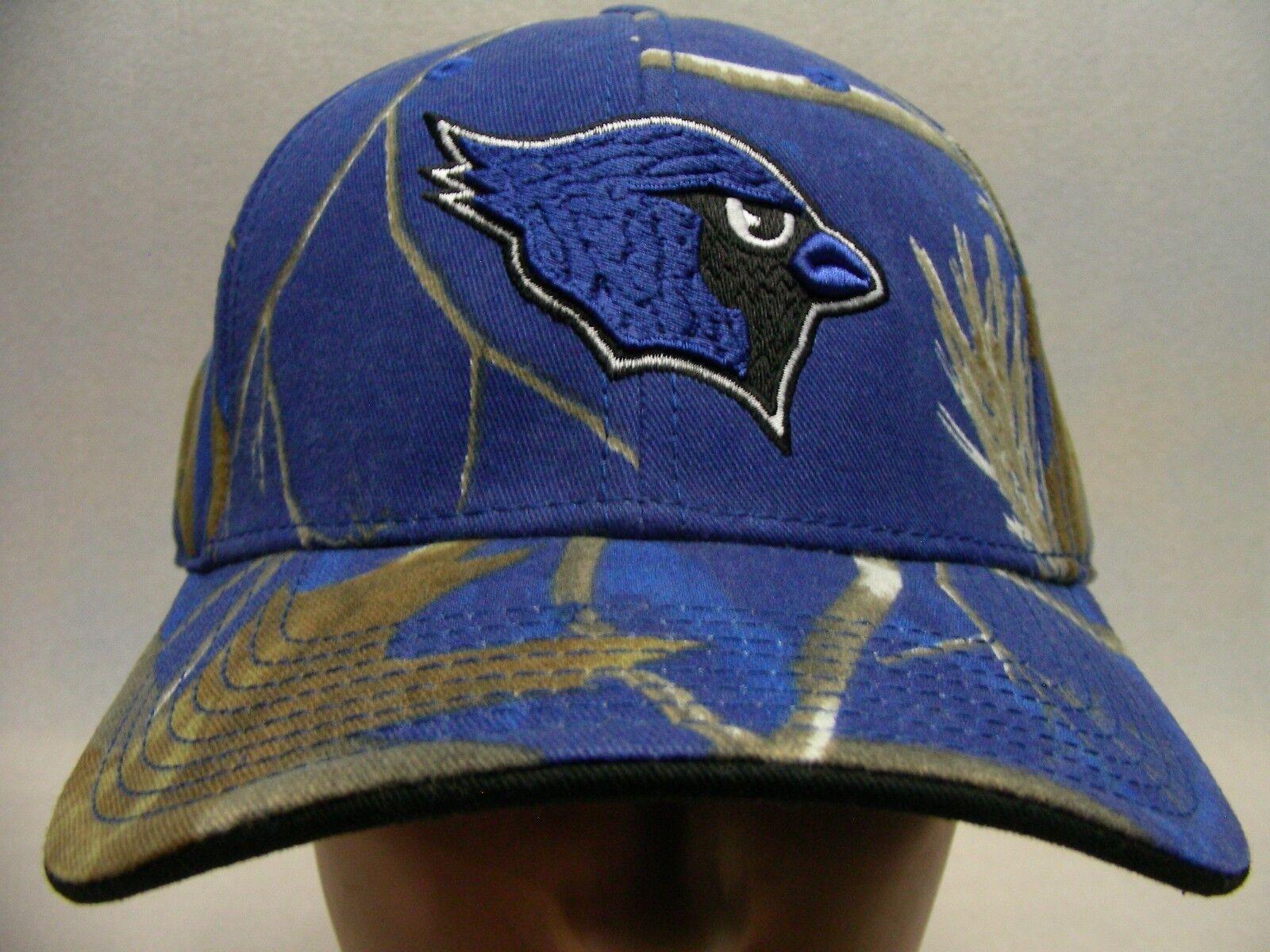 WB BLUE CARDINALS - CAP THE GAME - ADJUSTABLE BALL CAP - HAT 818640