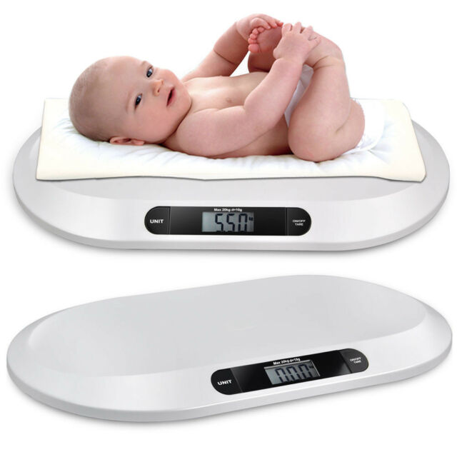 LCD Electronic Digital Baby Scale 20Kg/44lbs Weigh Scales Newborns