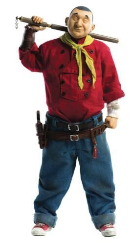 3 A THREEA GEOF DARROW X THREEA Shaolin Cowboy échelle 1//6 nouveau