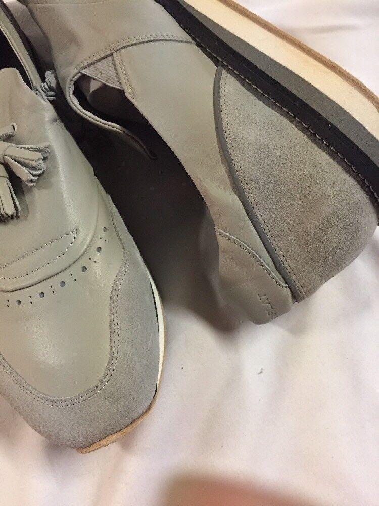 Freeman Plat EASY EASY EASY JOGGER Uomo's Gray Pelle Scarpe SNEAKERS  Taglia 16 EUR 49 b156c0