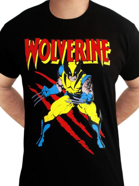 Wolverine Wallet Wolverine Mask X Men Logo new Official Marvel Bifold Black One