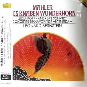 MAHLER-ANALOGPHONIC-LP-43017-DES-KNABEN-WUNDERHORN-BERNSTEIN-180G