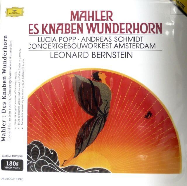 MAHLER -  ANALOGPHONIC - LP 43017 - DES KNABEN WUNDERHORN - BERNSTEIN - 180G