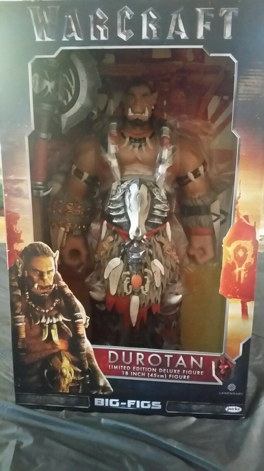 Warcraft burent 18-inch Action Figure 18  Jakks Pacific Big figs BRAND NEW