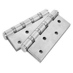 Ouverture 90/°. 2 x Charni/ère /à r/éssort en acier inoxydable