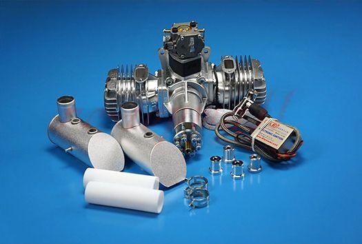DLE 111CC Motor De Gasolina Con Encendido Electrónico & Silenciador Para RC avión