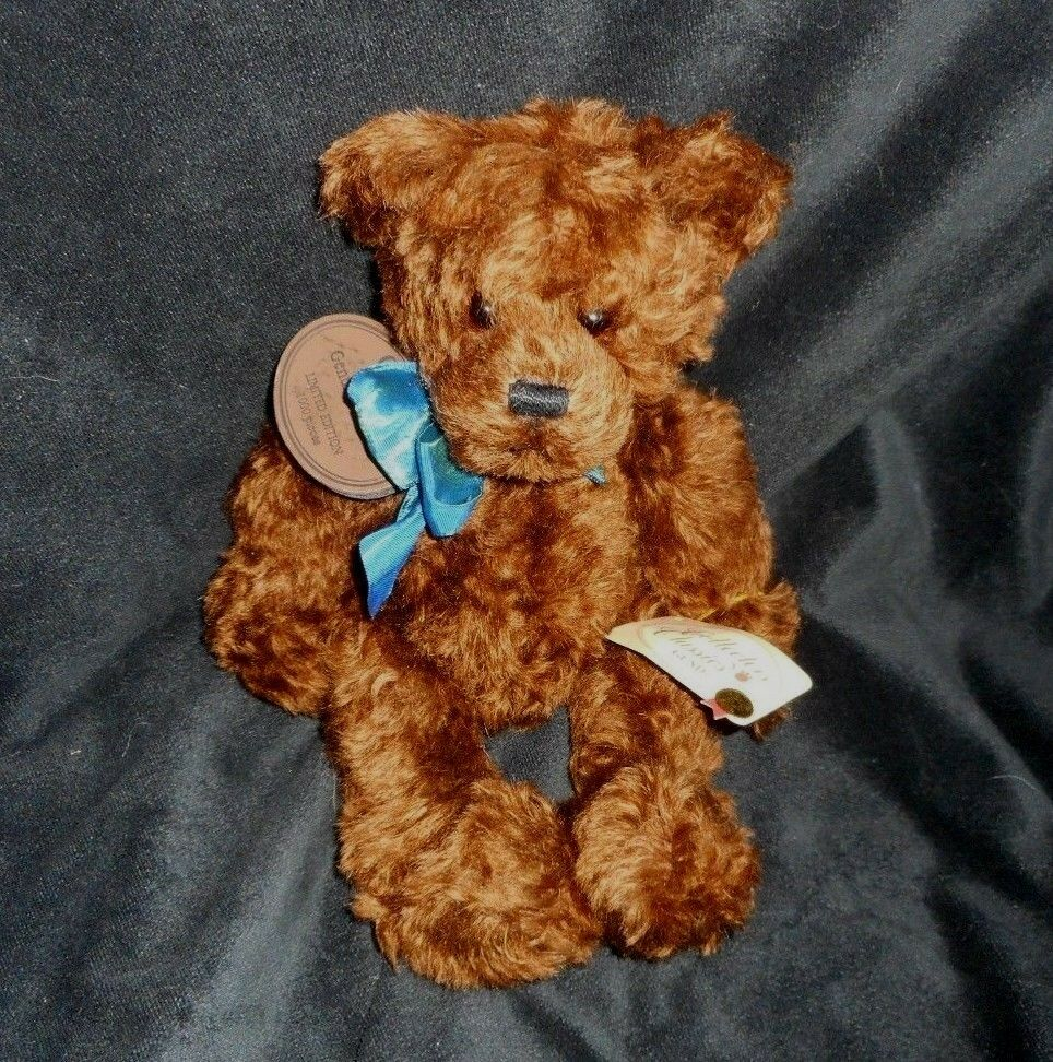 2003 GUND MOHAIR LIMITED EDITION CLASSIC TEDDY BEAR STUFFED ANIMAL PLUSH TOY TAG