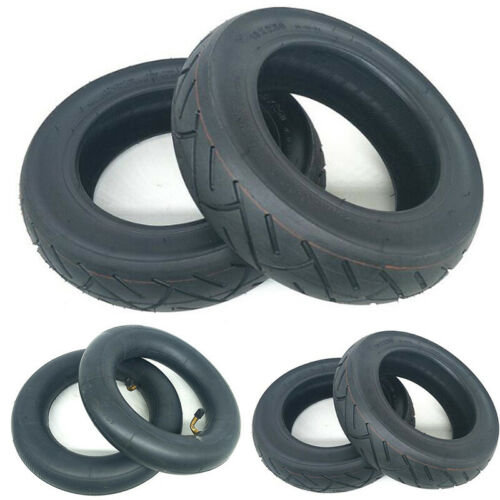 Black Tires Inner Tube For Electric Scooter E-Bike Part 10x2.50 Inch Rubber
