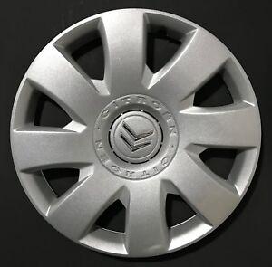 """Adornos de 16/"""" ruedas para caber Citroen C8 C4 C5 Picasso tapacubos Conjunto de 4"""
