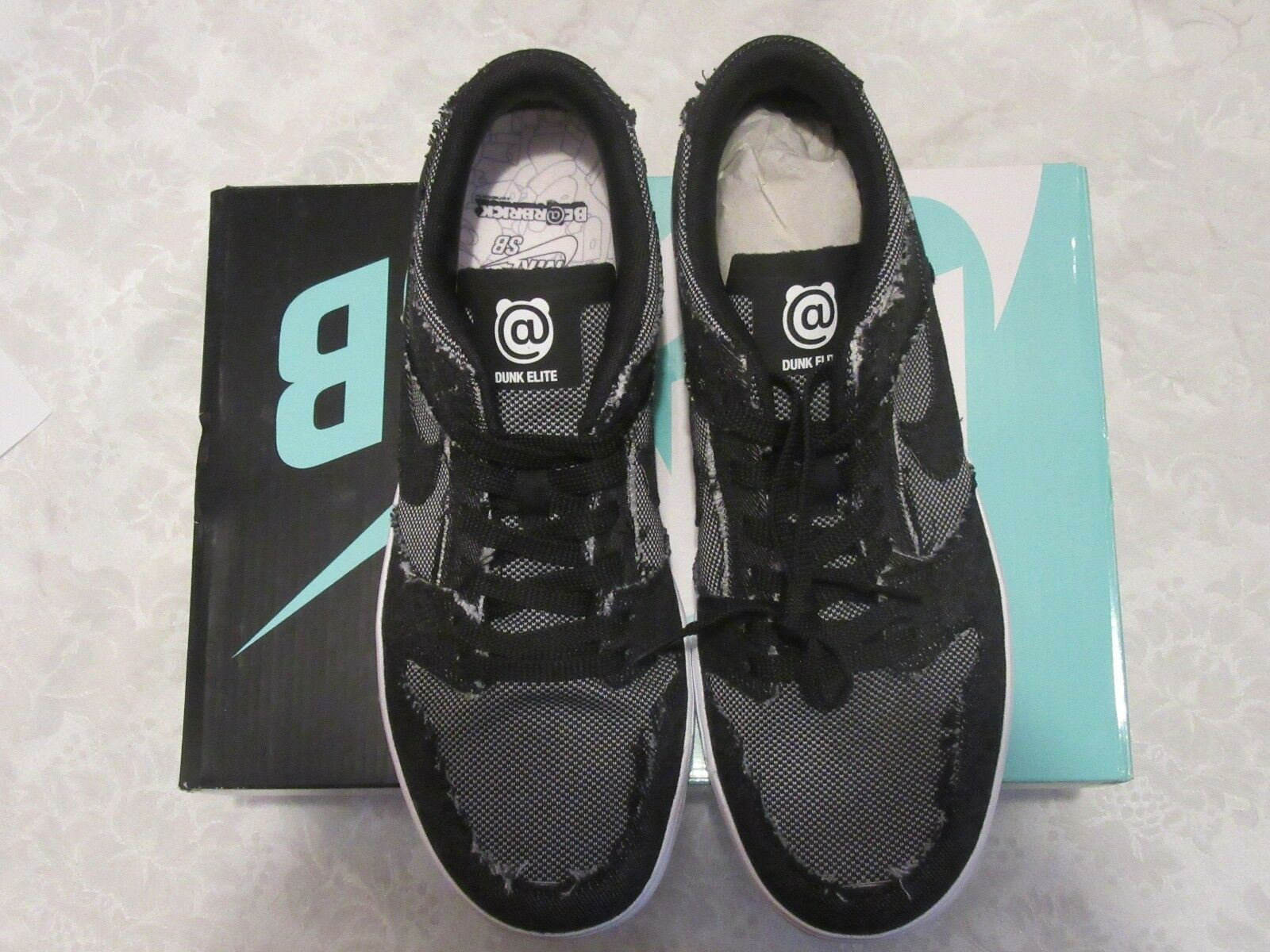 Nike SB Zoom Dunk Low 877063 Elite QS Medicom Be@rbrick 877063 Low 002 Size 11 Sneakers 8cb8b0