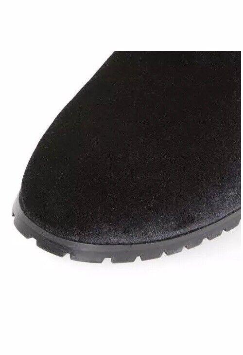 Duna Head Over Heels Pippaa Cleated Terciopelo Nuevo Tobillo botas Nuevo Terciopelo Tamaño 7 22389d