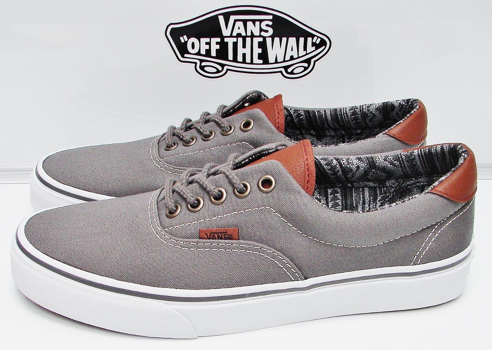 Vans Era 59 (C&L) Pewter  Italian Weave VN-0A3458LW9 Men's Size  11
