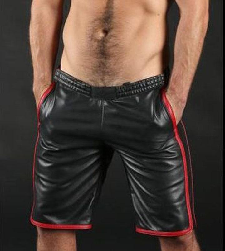 Pantalones cortos de baloncesto para  hombre Cuero De Cordero Cuero Deportes Pantalones Cortos 3 Colors Disponibles  disfrutando de sus compras