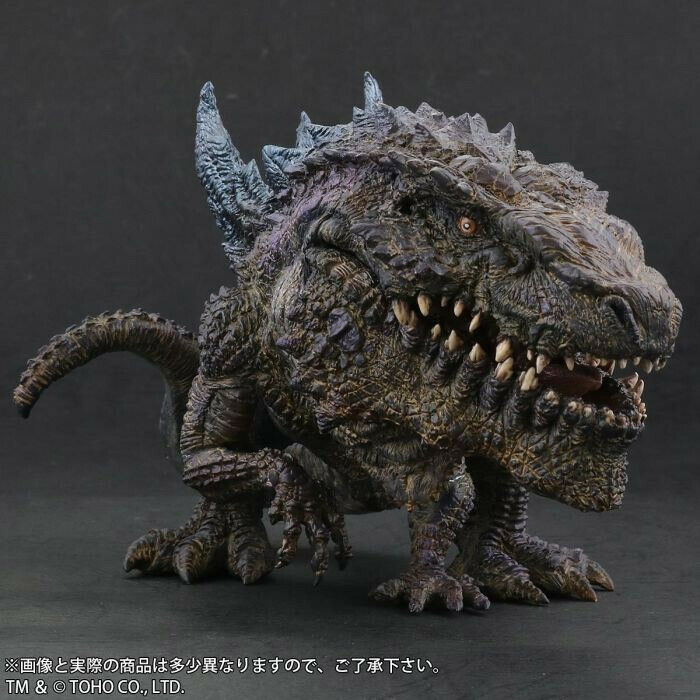 Godzilla 1998 Super Deformed Deforeal Figure by X-Plus 0898XP01
