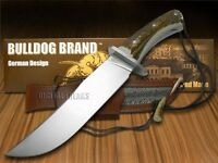 Bulldog Diamond Limited Edition Deer Stag Bowie Hunter Stainless Knives Knife on sale