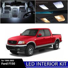 7PCS White Interior LED Light Package Kit For 1999 - 2003 Ford F150 F-150