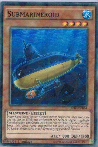 BP03-DE024 Submarineroid   Shatterfoil Rare  1 Auflage Neu