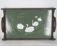 Villeroy & Boch Tablett aus Steingut & Holz Jugendstil V&B Dresden Tray XXX