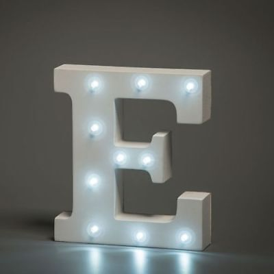 Smiling Faces Alphabet White Neon Letter LED Personalised Sign G