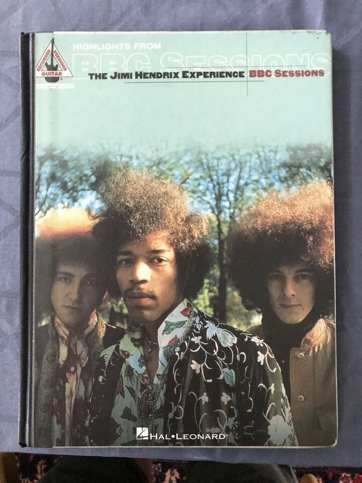 Guitar, vocal, Jimi Hendrix Experience BBC Sessions
