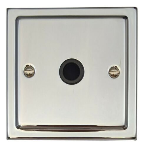 G/&H TC79B Trimline Plate Polished Chrome 1 Gang Flex Outlet Plate