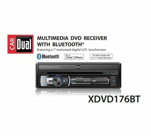 Dual Electronics XDVD176BT 7-inch LED Backlit LCD Multimedia