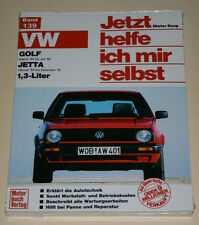 Reparaturanleitung VW Golf II / 2 + Jetta, 1,3 liter Benziner 55 PS, 1983-1992