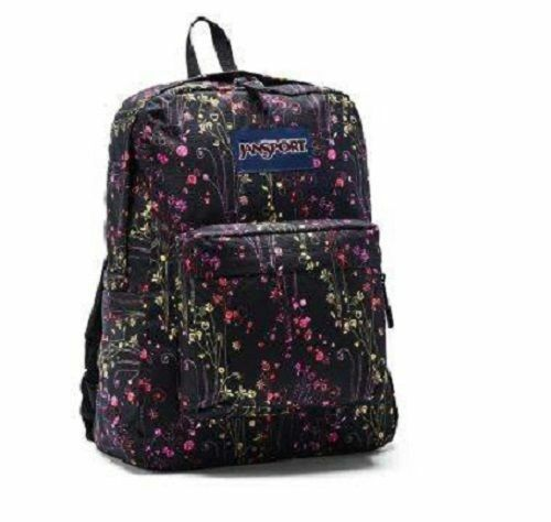 Jansport Superbreak Backpack T501ZF2 Multi-Climbing Ditzi RARE MSRP $50+