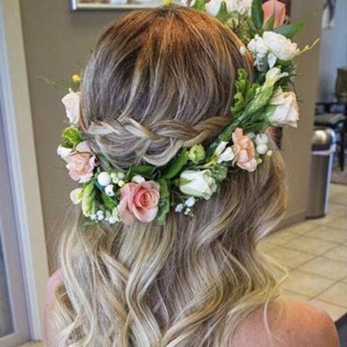 Baby Mädchen Damen Blumenkrone Girlande Haarband Haarkranz Kopfschmuck