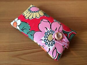 iPhone-7-7-Plus-Padded-Case-Cover-Made-With-Cath-Kidston-Red-Camden-Fabric