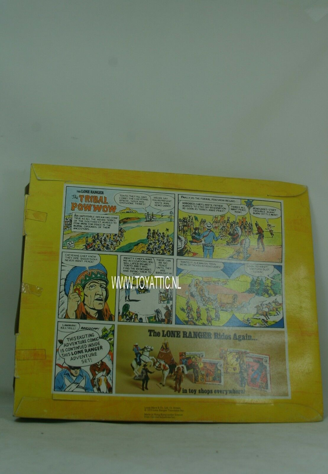 Lone ranger 1973 The The The Tribal Powwow accessoiry set fashion by Marx Toys no, 7426 d577fd