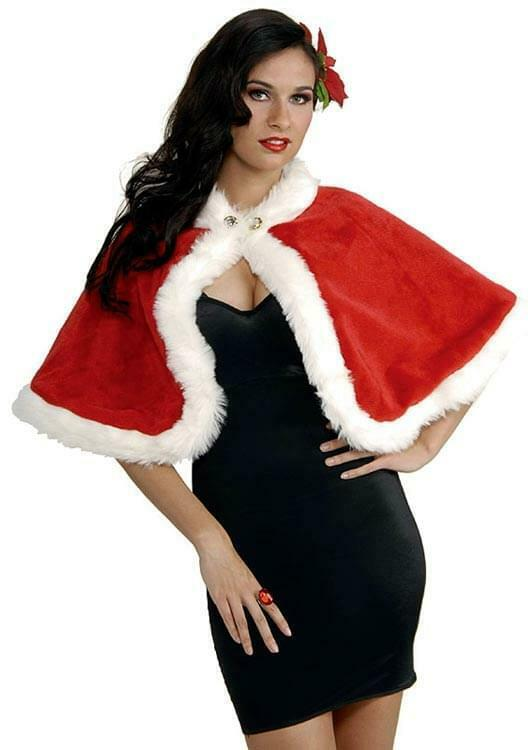Christmas Sexy Holiday Stole Costume Accessory