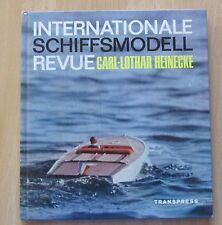 Internationale Schiffmodell Revue Sport Modellbau Rennboote Segelboote  NAVIGA