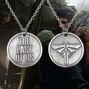 The last of us necklace pendant chain fireflies charm gaming ps4 image is loading the last of us necklace pendant chain fireflies aloadofball Image collections
