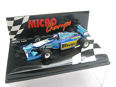 Benetton Renault Showcar B194 B195 Johnny Herbert #2 Minichamps 1995 1//43 F1