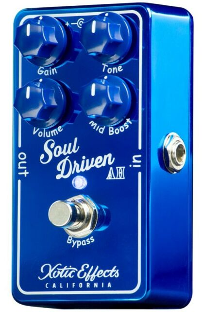 xotic effects soul driven boost overdrive guitar effect pedal new ebay. Black Bedroom Furniture Sets. Home Design Ideas