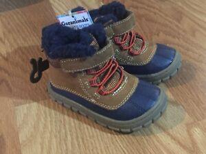 1821e103f13 Details about Garanimals Toddler Boys Work Fur Boots Sizes 3, 4, 6 NWT