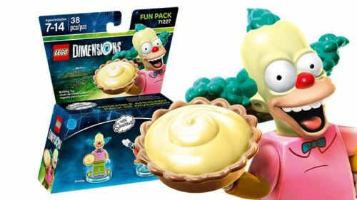 Lego Dimensions The Simpsons Krusty and Clown Bike Fun Pack 71227 FREE Shipping