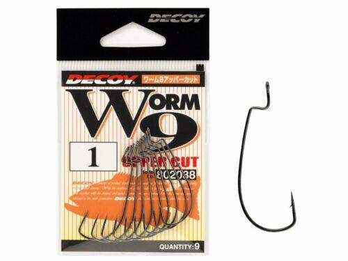 #6 Accessori esche morbide NUOVO 2019 Decoy Worm 9 Upper Cut Hook #1