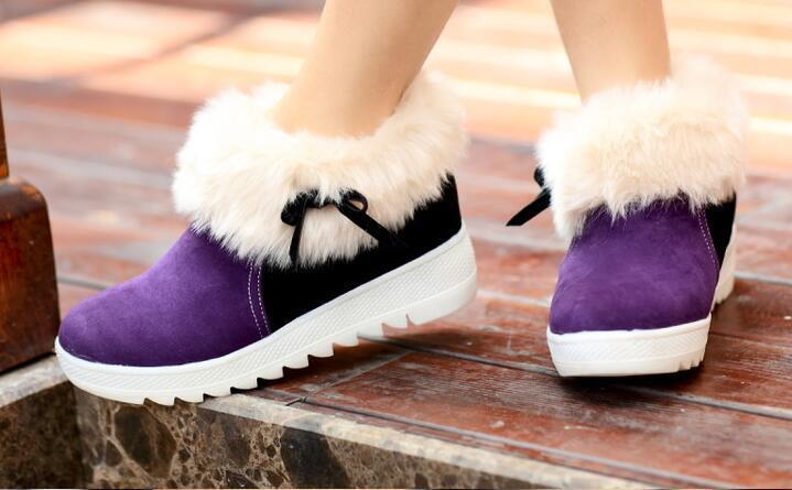 Stivali stivaletti scarpe donna tacco 5 viola bianco pelle sintetica comode 8174