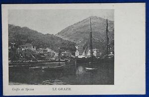 GOLFO-DI-SPEZIA-Le-Grazie-imbarcazioni-postcard-no-viaggiata-034-900-f-p-22125