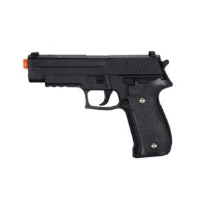 Uk Arms Sig Sauer P226 Airsoft Gun Metal Black Spring Pistol Real Scale G26b 700985484009 Ebay