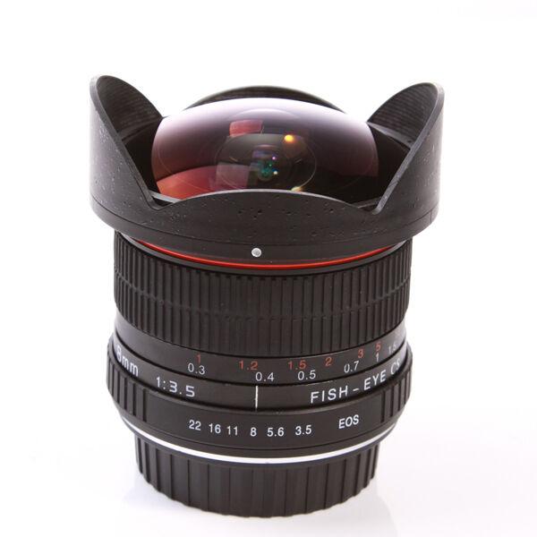 Super-Wide Fisheye lens 8mm f/3.5 for Canon EOS 1D 5D 7D 70D 60D 650/700/100D